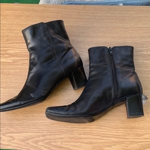 Nine West leather booties-  NW7SOLSET